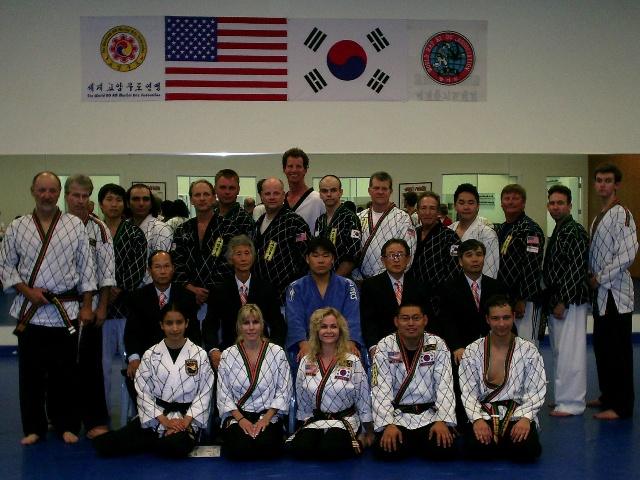 Master Koo with team
